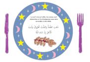 Set de table Ramadan