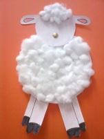 mouton en coton